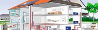 В нашей стране самым широко распространённым видом отопления любых домов является водяная система отопления. Это в какой-то степени можно объяснить хорошо развитой и разветвлённой сетью водоснабжения. Водяная система отопления одинаково часто используется в современных многоквартирных домах, на промышленных предприятиях, в торгово-офисных центрах и при индивидуальном коттеджном строительстве. В настоящее время достаточно большое количество компаний оказывают качественные услуги по разработке, монтажу и обслуживанию водяных систем отопления.