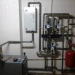 Электро дровяной способ отопления